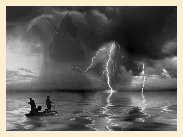 после дождя рыба клюет